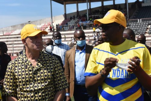 Haut-Katanga/Lupopo : Avant le choc face à Mazembe, Jacques Kyabula Katwe remonte  le moral des cheminots.