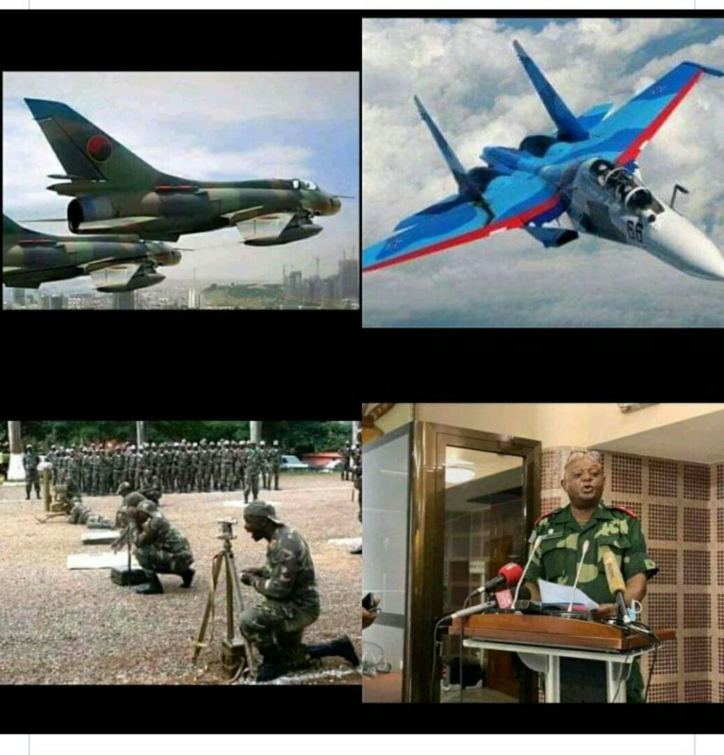 RDC/Forces Armées : Meeting aérien réussi dans le ciel de Kinshasa.