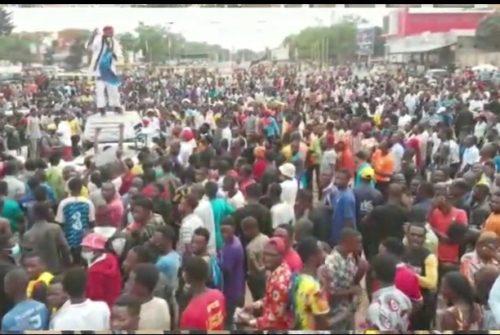 Haut-Katanga/Respect de la constitution : Marche de soutien de la Jeunesse Kabiliste très mobilisée dans les rues de Lubumbashi.