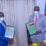 Diplomatie : Clôture de la réunion mixte Luapula–Haut-Katanga par la signature d'un protocole.