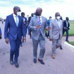 Haut-Katanga/Zone Economique de Libre Echange Continentale  Africaine (ZLECAF) : Jacques Kyabula reçoit le secrétaire général WAMKELE MENE.